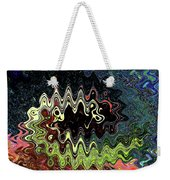 Squash Beans And Peppers Abstract Weekender Tote Bag