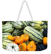 Squash Harvest Weekender Tote Bag by Will Borden