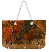 Squaw Creek Egrets Weekender Tote Bag