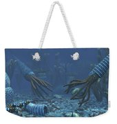 Squid-like Orthoceratites Attempt Weekender Tote Bag