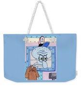 Squidward Weekender Tote Bag