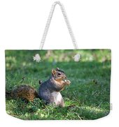 Squirrel Eating A Nut - Eugene Oregon Weekender Tote Bag