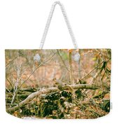 Squirrel In The Woods  Weekender Tote Bag