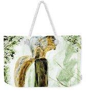 Squirrel Painting Weekender Tote Bag