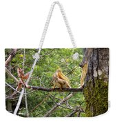 Squirrel Standoff Weekender Tote Bag