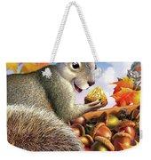Squirrel Treasure Weekender Tote Bag