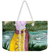 The Divine Flute Player, Sri Krishna Weekender Tote Bag