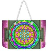 Sri Yantra - Artwork 7.5 Weekender Tote Bag