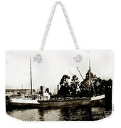 Steam Schooner Helene At San Padero Weekender Tote Bag