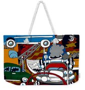 Ss Studebaker Weekender Tote Bag by Rojax Art