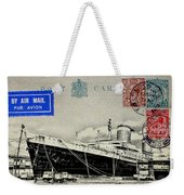 Ss United States - Post Card Weekender Tote Bag