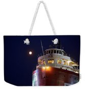 Ss William A Irvin At Night Weekender Tote Bag