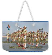 Ssc Capf Recruitment Weekender Tote Bag