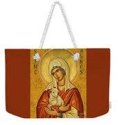 St. Agnes - Jcagn Weekender Tote Bag
