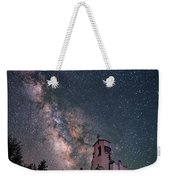 St. Aloysius Church Ruin Under The Stars Weekender Tote Bag