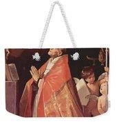 St Andrew Corsini In Prayer 1635 Weekender Tote Bag