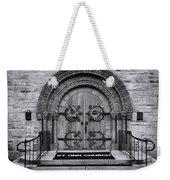 St Ann Church - Bw Weekender Tote Bag