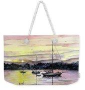 St. Augustine Boats Weekender Tote Bag by Sam Sidders