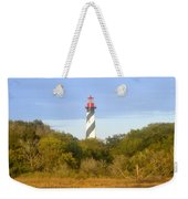 St. Augustine Light House Weekender Tote Bag
