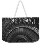 St. Augustine Lighthouse Spiral Staircase I Weekender Tote Bag