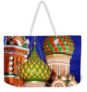 St Basils Cathedral In Moscow Russia Weekender Tote Bag
