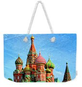 St. Basil's Cathedral Moscow Weekender Tote Bag