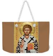 St. Boniface Of Germany - Jcbon Weekender Tote Bag