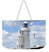 St. Catherine's Lighthouse On The Isle Of Wight Weekender Tote Bag