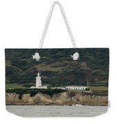 St Catherine's Lighthouse Weekender Tote Bag