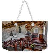 St Celynnin Church  Interior Weekender Tote Bag