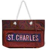 St Charles Line Weekender Tote Bag