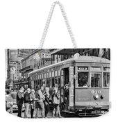 St. Charles Streetcar Weekender Tote Bag