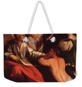 St Cosmas And St Damian 1534 Weekender Tote Bag