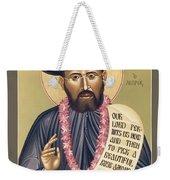 St. Damien The Leper - Rldtl Weekender Tote Bag