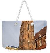 St. Elizabeth's Church Tower In Wroclaw Weekender Tote Bag