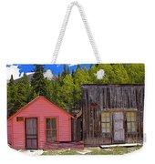 St. Elmo Pink House And Barn Weekender Tote Bag