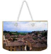 St. Emilion View Weekender Tote Bag by Joan  Minchak