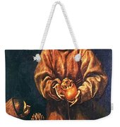 St Francis And Brother Rufus 1606 Weekender Tote Bag