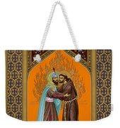 St. Francis And The Sultan - Rlsul Weekender Tote Bag