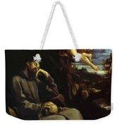 St Francis Consoled Weekender Tote Bag