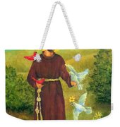 St. Francis Of Assisi Weekender Tote Bag