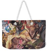 St George And The Dragon Weekender Tote Bag