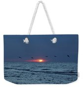 St. George Island Sunrise Weekender Tote Bag