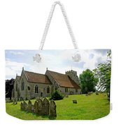 St George's Church At Arreton Weekender Tote Bag by Rod Johnson