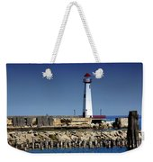 St. Ignace Lighthouse Weekender Tote Bag