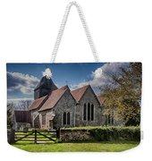St James The Great Elmsted Weekender Tote Bag