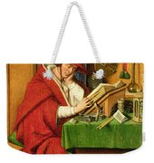 St. Jerome In His Study  Weekender Tote Bag