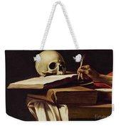 St. Jerome Writing Weekender Tote Bag