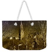 St. John The Baptist From The Rail Road Trestle In Manayunk Weekender Tote Bag
