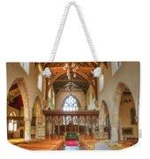 St John The Baptist Penshurst Interior Weekender Tote Bag